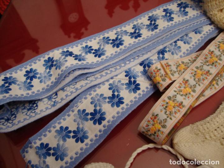 Artesanía: lote piezas de ganchillo - Foto 6 - 257696475
