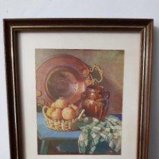 Artesanía: MANUEL PARREÑO RIVERA - BODEGON. Lote 260095345