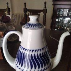Artesanía: JUEGO CAFÉ SARGADELOS 12 POCILLOS ,TETERA ETC.. ENTERA. Lote 268779949