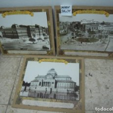 Artesanía: MADRID ANTIGUO 3 LAMINAS FOTOS DECORATIVAS. Lote 270214908