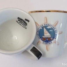 Artesanía: 2 TAZAS DE CAFE DIFERENTES - PROVIENEN DE COLECCION PRIVADA. Lote 276470503