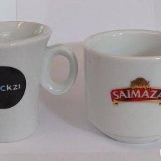 Artesanía: 2 TAZAS DE CAFE DIFERENTES - PROVIENEN DE COLECCION PRIVADA. Lote 276653123