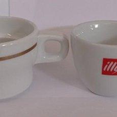 Artesanía: 2 TAZAS DE CAFE DIFERENTES - PROVIENEN DE COLECCION PRIVADA. Lote 276654368