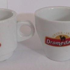 Artesanía: 2 TAZAS DE CAFE DIFERENTES - PROVIENEN DE COLECCION PRIVADA. Lote 276654758