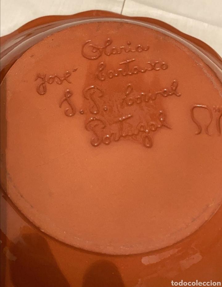 Artesanía: Frutero antiguo cerámica portuguesa - Foto 3 - 287716473