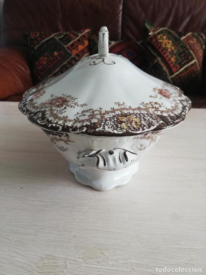 Artesanía: Sopera antigua porcelana china opaca Sandeman Macdougall (Sevilla) - Foto 3 - 287727878