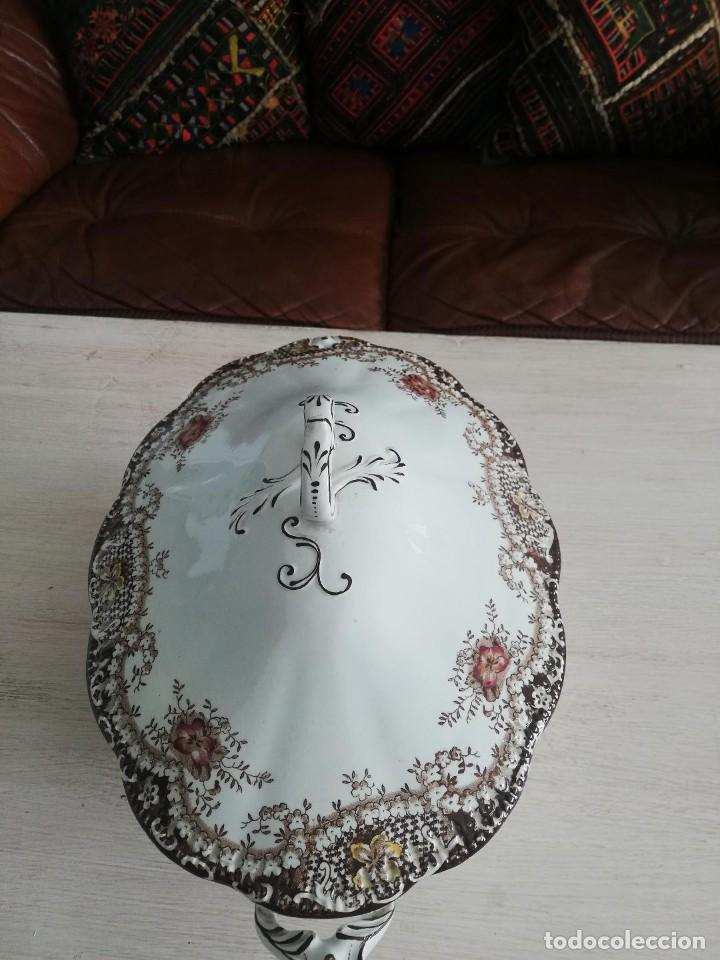 Artesanía: Sopera antigua porcelana china opaca Sandeman Macdougall (Sevilla) - Foto 4 - 287727878