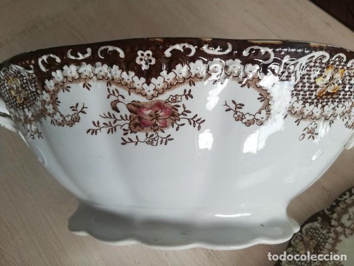 Artesanía: Sopera antigua porcelana china opaca Sandeman Macdougall (Sevilla) - Foto 6 - 287727878