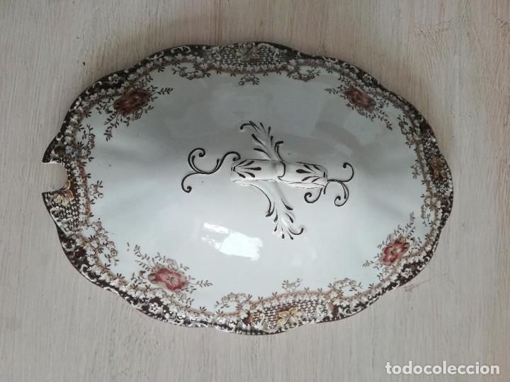 Artesanía: Sopera antigua porcelana china opaca Sandeman Macdougall (Sevilla) - Foto 7 - 287727878