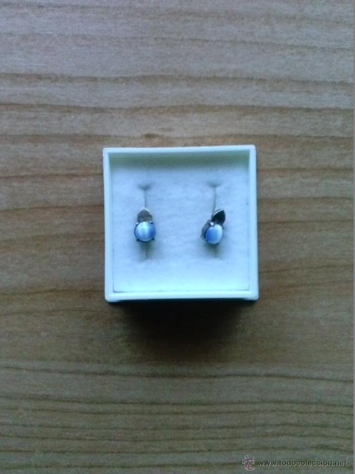 Artesanía: Pendientes en plata 925mmg pureza con bolita - Foto 2 - 39687179
