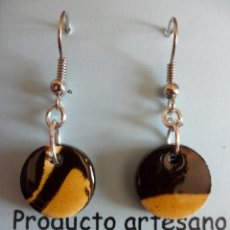 Artisanat: PENDIENTES DE CERÁMICA NERIAGE. Lote 46778767