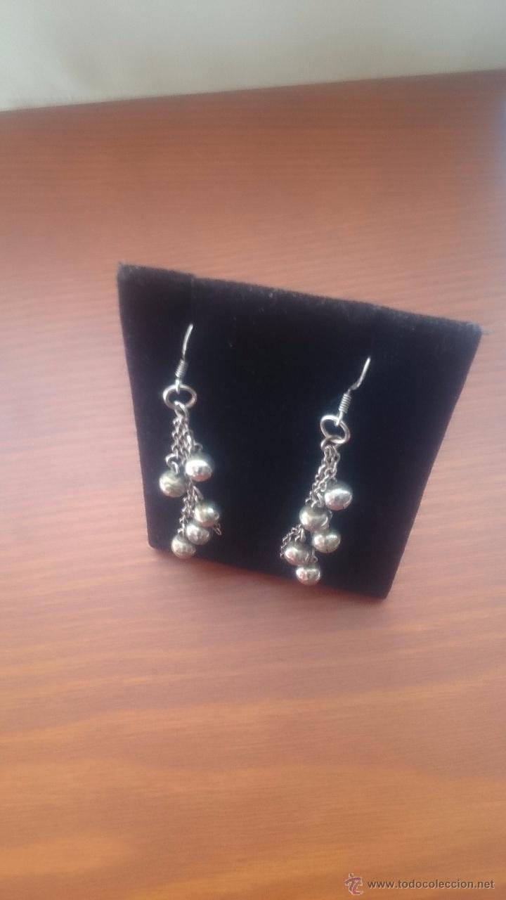 Artesanía: Pendientes en plata 950mmg pureza - Foto 2 - 49386918