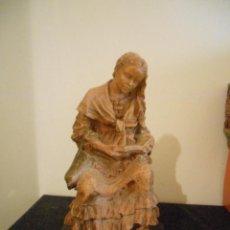 Artesanía: ANTIGUA ESCULTURA DEL PRESTIGIOSO ESCULTOR J.BOFILL ( CAMPESINA ). Lote 50511947