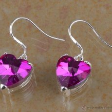 Handicraft - PENDIENTES FASHION EN PLATA CON GEMAS 16 QULATES - LEER DENTRO LA DESCRIPCION- Nº6 - 54480008