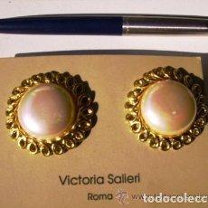 Artesanía: PENDIENTES DE ALTA CALIDAD DE VICTORIA SALIERI, ROMA. Lote 80444653