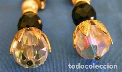 Artesanía: Pendientes metal y cristal Swarovski - Foto 2 - 104958575