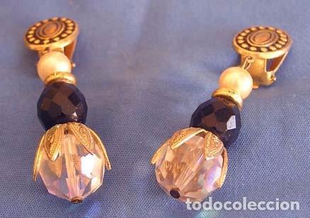 Artesanía: Pendientes metal y cristal Swarovski - Foto 3 - 104958575