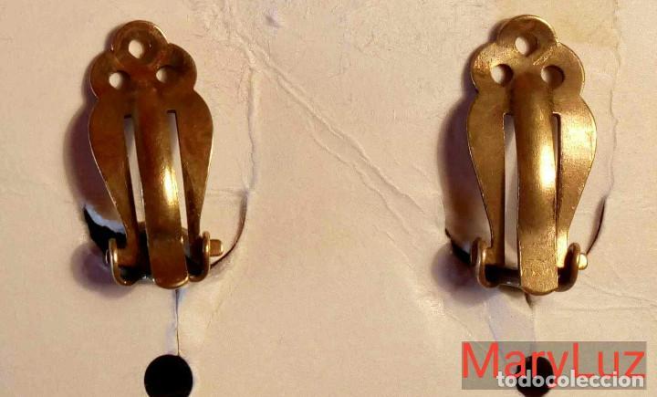 Artesanía: PENDIENTES DE JOSEFF, EL JOYERO DE LAS PELÍCULAS DE CINE DE HOLLYWOOD. Muy raros. (1). - Foto 3 - 108440415
