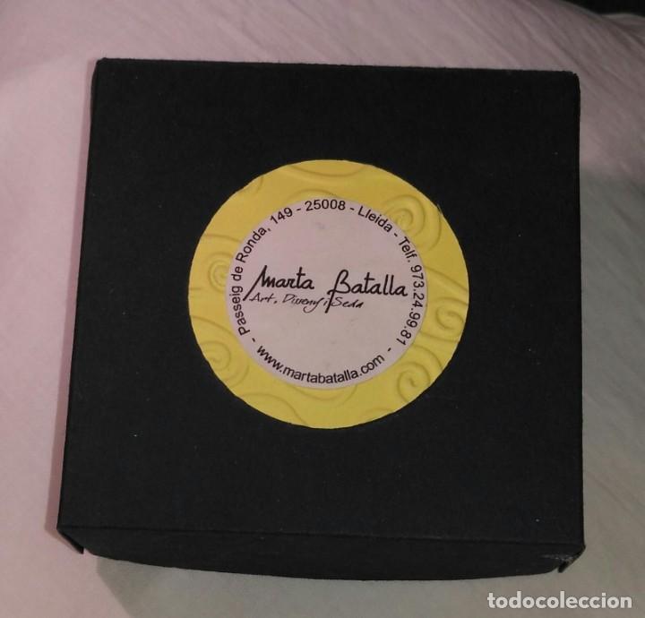 Artesanía: Pendientes diseño con piedras negras poligonales - Largo 5cm - Origen regalo - Sin usar - Foto 6 - 197709902