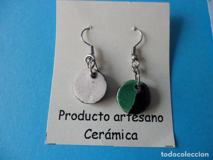 Artesanía: Bonitos y coquetos pendientes de Cerámica realizados a mano. Neriage o Marmolado - Foto 4 - 256048325
