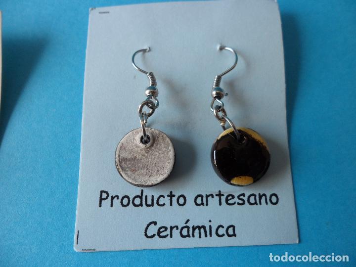 Artesanía: Bonitos y coquetos pendientes de Cerámica realizados a mano. Neriage o Marmolado - Foto 5 - 256048325