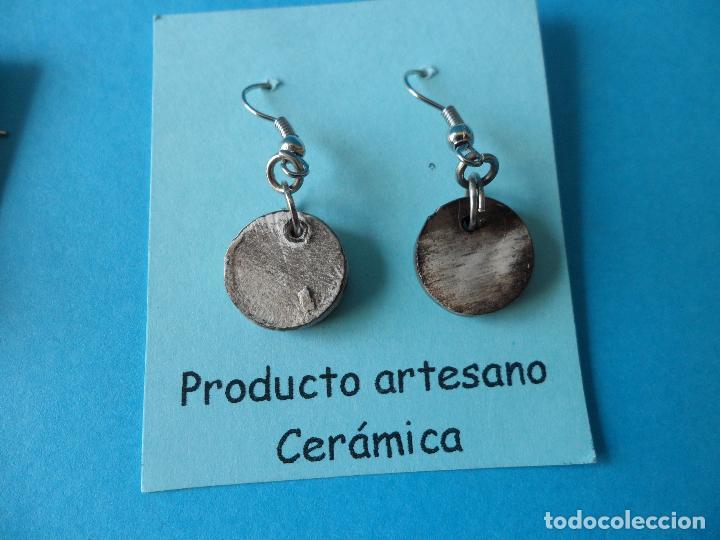 Artesanía: Bonitos y coquetos pendientes de Cerámica realizados a mano. Neriage o Marmolado - Foto 5 - 256048705