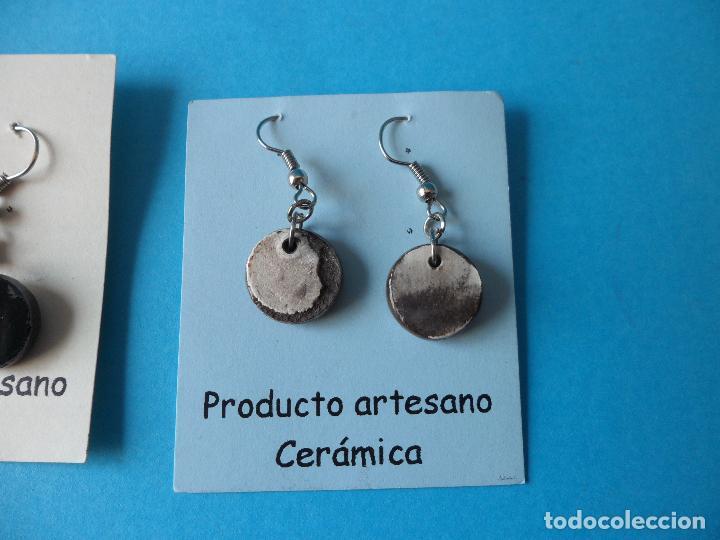 Artesanía: Bonitos y coquetos pendientes de Cerámica realizados a mano. Neriage o Marmolado - Foto 5 - 256049040