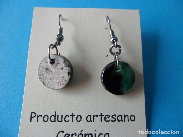 Artesanía: Bonitos y coquetos pendientes de Cerámica realizados a mano. Neriage o Marmolado - Foto 5 - 256051050