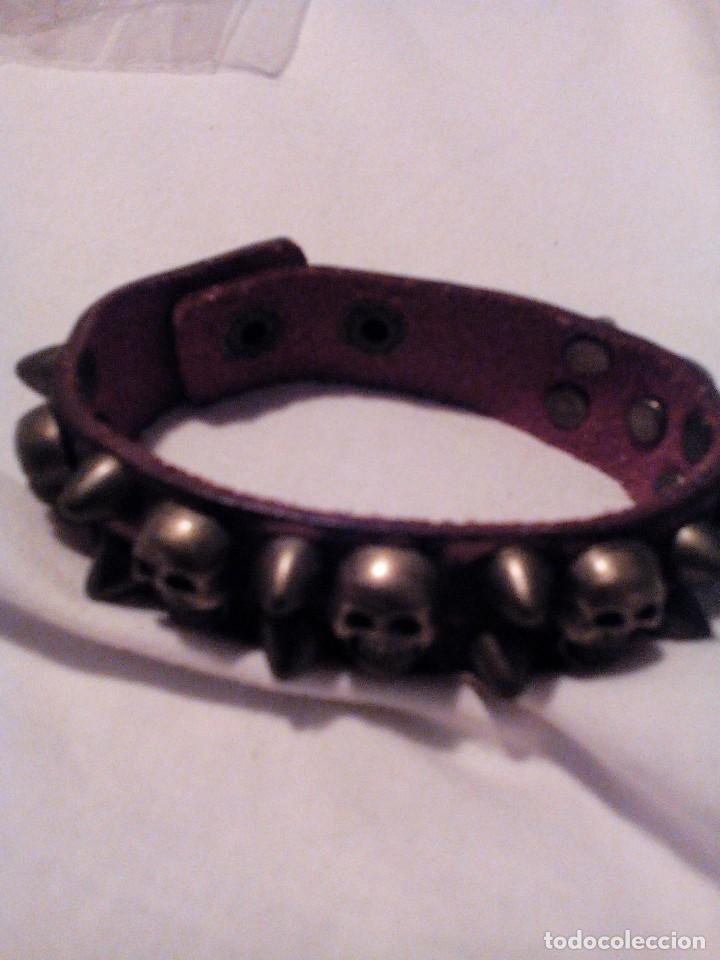 Artesanía: C1____pulsera calaveras,mide 21cm,gasto de envio 1,99 - Foto 2 - 121285255