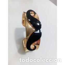 Artesanía: Brazalete Dorado Bigote - Foto 4 - 137999850