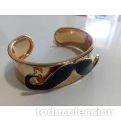 Artesanía: Brazalete Dorado Bigote - Foto 6 - 137999850