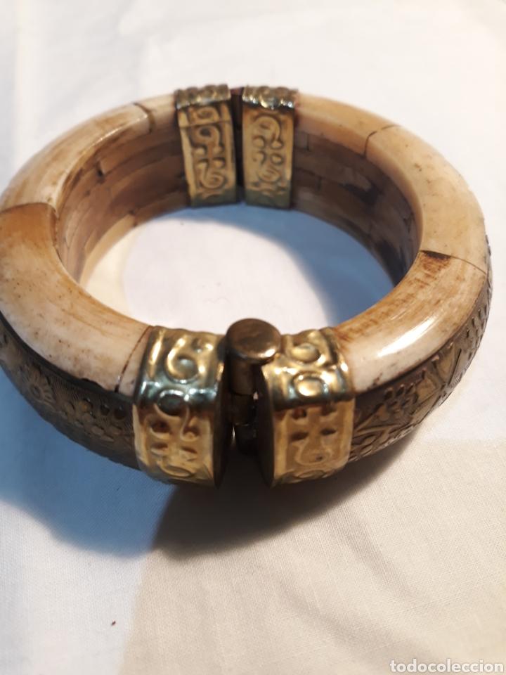 Artesanía: Arte africano, preciosa pulsera vintage. - Foto 4 - 150536092