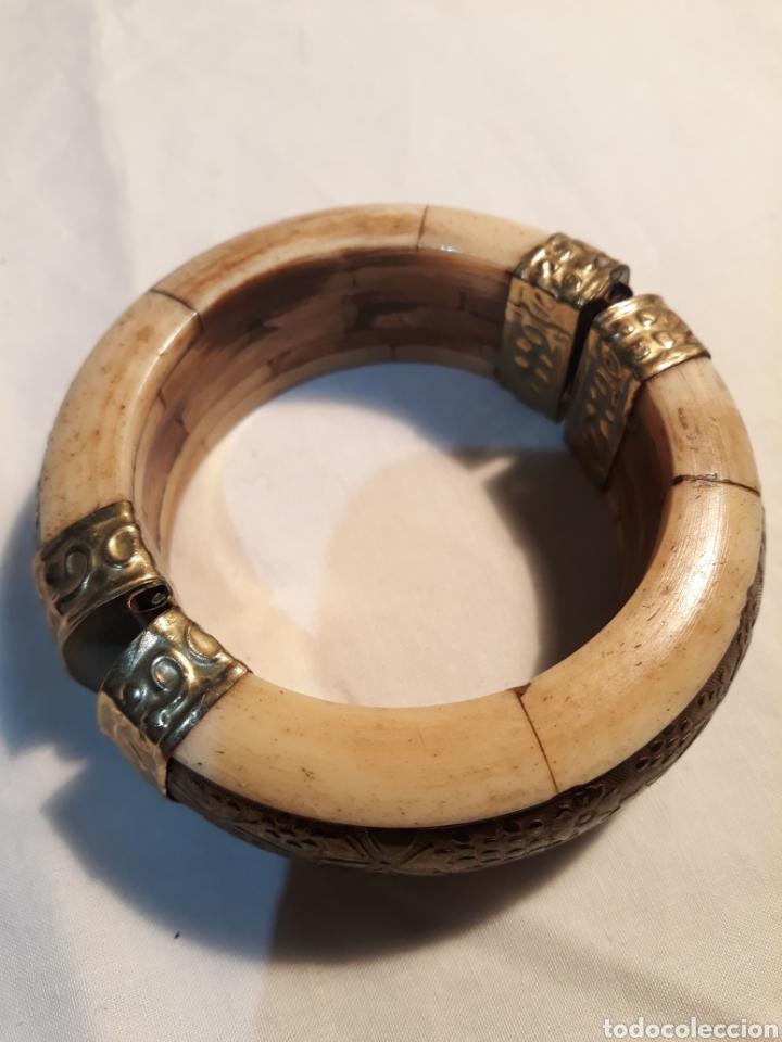 Artesanía: Arte africano, preciosa pulsera vintage. - Foto 5 - 150536092