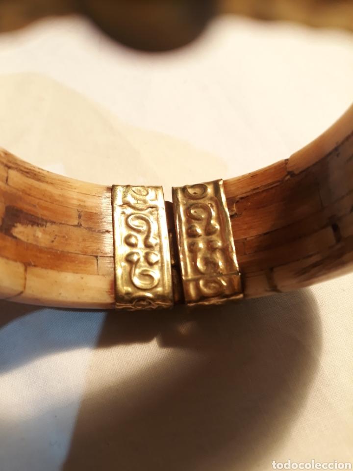 Artesanía: Arte africano, preciosa pulsera vintage. - Foto 6 - 150536092