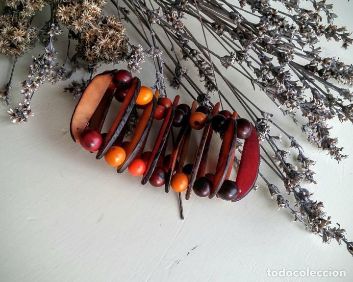 Artesanía: Pulsera de semillas - Foto 3 - 150848958