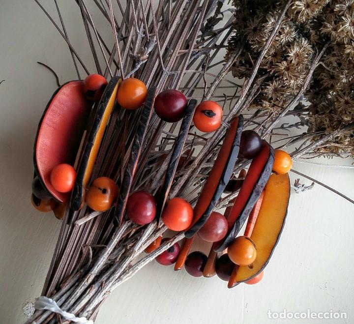 Artesanía: Pulsera de semillas - Foto 4 - 150848958