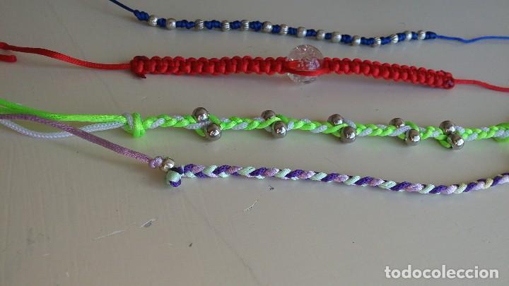 Artesanía: Lote 4 coloridas pulseras. Abalorios. Bisutería - Foto 4 - 152581378