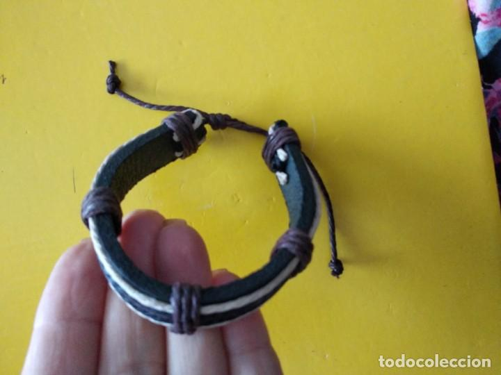 Artesanía: Pulsera de cuero i cordon - Foto 2 - 159040998
