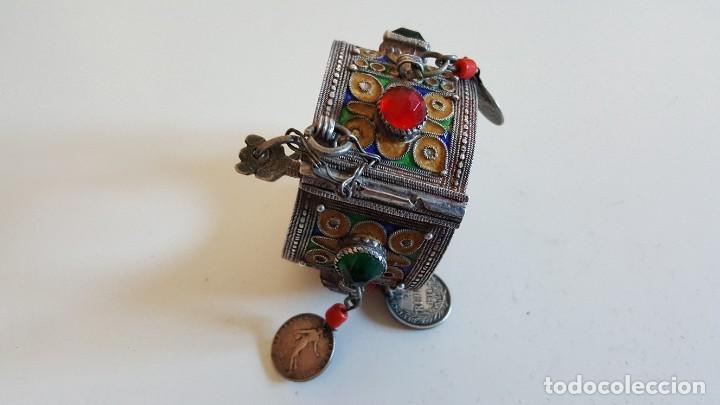 Artesanía: Original pulsera artesanía marroquí con plata y otros metales - Foto 5 - 219697477