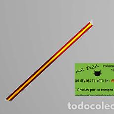Artesanía: MR TAZA PULSERA TELA BANDERA ESPAÑA. Lote 246205420