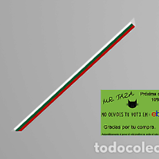 Artesanía: PULSERA TELA BANDERA BULGARIA PAISOPA. Lote 246381205