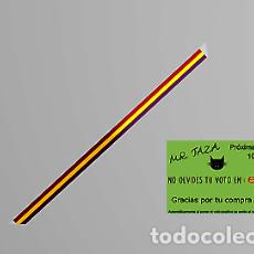 Artesanía: 2X PULSERA BANDERA REPUBLICANA TELA 15 MM ANCHO 30 CM LARGO. Lote 246383190
