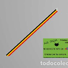 Artesanía: MR TAZA PULSERA TELA BANDERA BELGICA PAISOPA. Lote 246399635