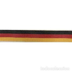 Artesanía: 2X TELA PULSERA BANDERA ALEMANIA GERMAN FLAG BRACELET 15MM. Lote 246409080