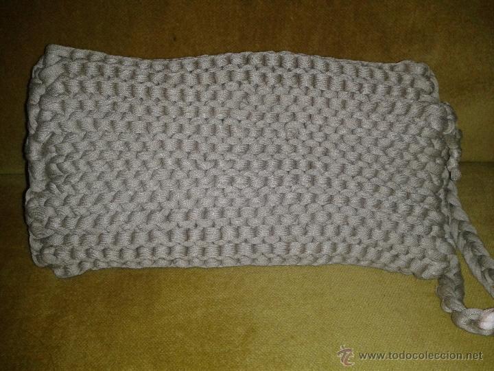 Artesanía: Bolso hecho a mano de cuerda elástica - Foto 2 - 53566941
