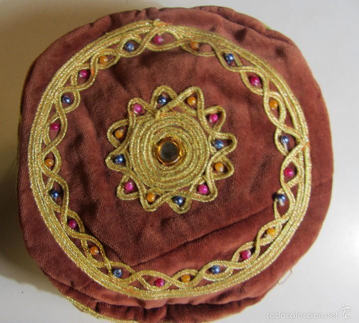 Artesanía: sombrero gorro tradicional turco en terciopelo Turkish hat - Foto 2 - 277677448