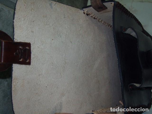 Artesanía: BOLSO,BANDOLERA DE PIEL, CUERO COSIDO A MANO. MEXICO - Foto 6 - 64175543