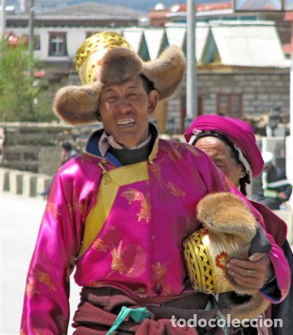 Artesanía: Gorro auténtico tradicional de Lasha, Nepal - Foto 4 - 69748437