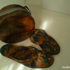 Artesanía: BOLSO AFRICANO Y CALZADO. Lote 80859335