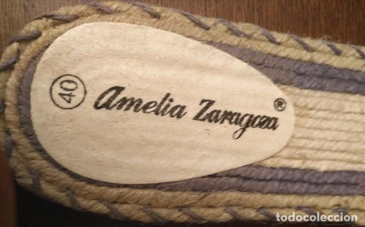 Artesanía: S 29 Sandalias planas - esparto, piel y goma - Amelia Zaragora - N 40 - Foto 3 - 89459708